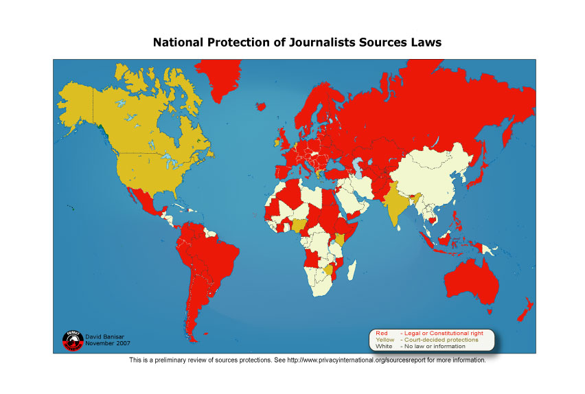 Threats to journalists
